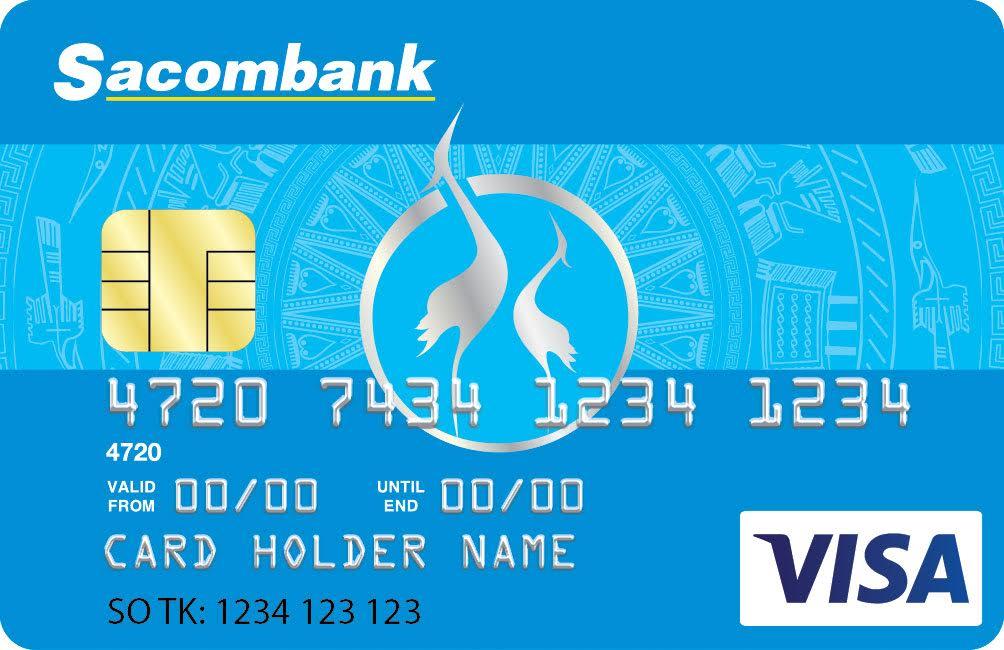 mở thẻ VISA SACOMBANK